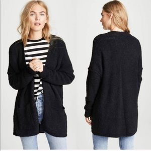 Free People Mohair Phantom Large Pocket Cardigan